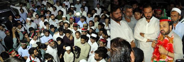 اہلیانِ اسلام پور نے طاہر خان کا جس طرح پرتپاک استقبال کیا ، اس سے ثابت ہوتا ہے کہ ایم اپی اے صاحب اس علاقے میں اپنی شناخت کھو چکے ہیں