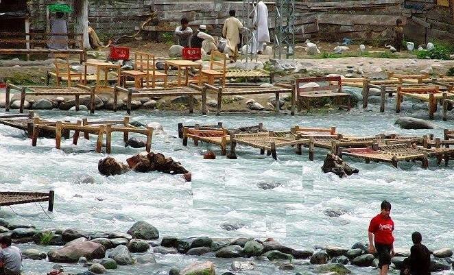 سوات کالام کا اک دلفریب منظر
