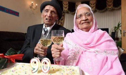 دنیا کا سب سے زیادہ عمر جینے والا شادی شدہ جوڑا