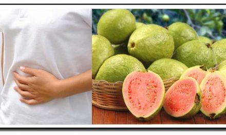 امرود، گیس کا علاج